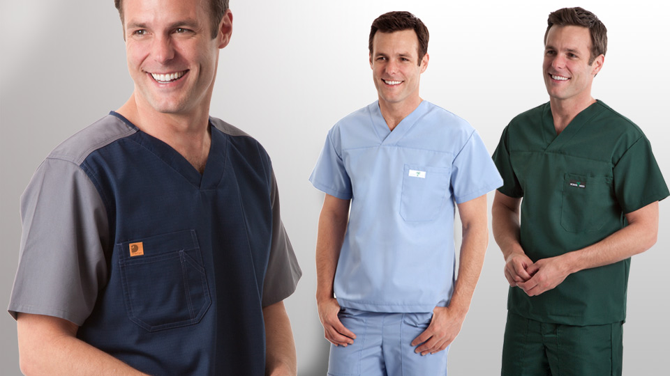 Quality scrub tops for Men from Carhartt, Scrub Med and more...